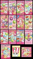 SHOPKINS Birthday Card Daughter,Sister,Niece,Granddaughter,5th,6th,7th,8th +open