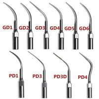 Dental Ultrasonic Scaler Scaling Tips Fit DTE SATELEC GD1/2/3/4/5/6  PD1/3/4