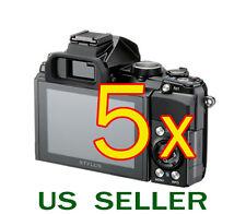 5x Olympus Stylus 1 Digital Camera Clear LCD Screen Protector Guard Shield