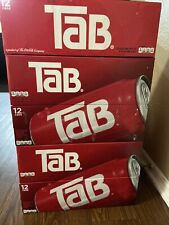 TaB Cola 12 Pack —Free & Fast Shipping —SOLD OUT EVERYWHERE!Discontinued! 12 Oz