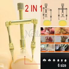2017 Ingrown Toe Nail Fixer Toenail Recover Correction Tool 2in1 Copper
