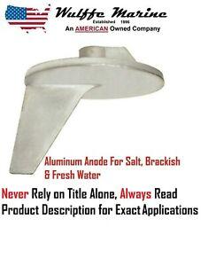 Aluminum Trim Tab Anode High Performance 822777Q1 Mercury Outboard Mercruiser