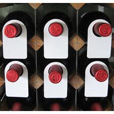 Plastic Wine Bottle Neck Tags - Set of 100