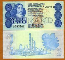 ND South Africa 1990 2 rand AA-Prefix UNC P-118e