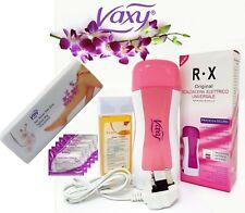 Roll on depilatory wax heater cartridge Warmer Hair Removal waxing kit by Vaxy