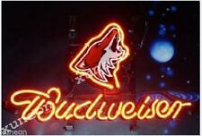 Rare Phoenix Coyotes Budweiser Bud Light Beer Bar Pub Real Neon Sign [Fast Ship]