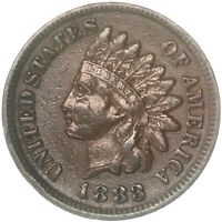 1883 Indian Head Cent Extra Fine Penny XF