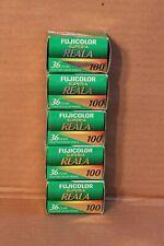 Fuji Reala 100 35Mm Film (5 Rolls) Stored In Freezer