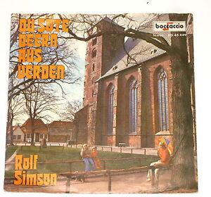 "Rolf Simson - 7"" Single - Du Söte Deern Aus Verden - Boccaccio BO 45 449"