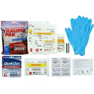 Adventure Medical Rapid Response Trauma Pak with QuikClot Tactical MedicineNEW