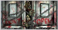 HALLOWEEN party BANNER Scene Setter ZOMBIES Walking Dead poster 5' wide