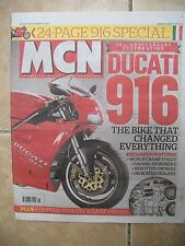Motor Cycle News, 18 issues, 1st January 2014 to 14th May 2014. Complete.