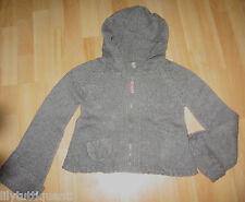 CAPTAIN TORTUE - Gilet gris à capuche - T. 10 ans