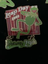 Disney Dlr Leap Day 2008 The Muppets Kermit The Frog Pin Le 1000