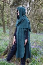 ADULT ARCHER CAPE HOOD cloak ROBIN HOOD HUNTER ASSASSIN COSPLAY S M L XL XXL