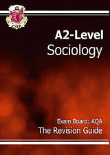 CGP Books, A2-Level Sociology AQA Revision Guide, Paperback, Very Good Book