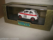 1.43 EARLY VITESSE FIAT 500 SPORT 12hr HOCKENHEIM 1958 #28  GREAT MODEL CAR