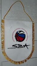FANION XL BASKETBALL FEDERATION BASKET SLOVAQUIE HKSBA avec Dédicaces