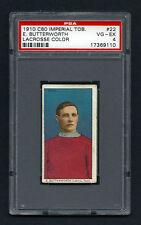 PSA 4 1910 C60 LaCROSSE CARD #22 E. BUTTERWORTH