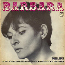 BARBARA AU BOIS DE SAINT-ARMAND FRENCH ORIG EP
