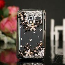 Samsung Galaxy Ace Plus s7500 Custodia Rigida Custodia Cellulare Guscio Astuccio pietre chiaro
