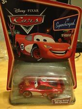 Disney Pixar Supercharged Cars diecast RADIATOR SPRINGS MCQUEEN Hard find MINT