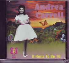 ANDREA CARROLL - It hurts to be 16 - Great Teen CD!