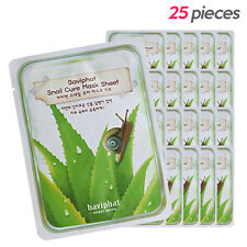 [URBAN DOLLKISS] Baviphat Snail Cure Mask Sheet 25g*25pcs / Moisture