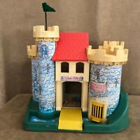 Play Family Castle vintage Fisher Price 1974 building only little people