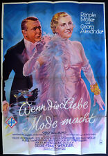 WHEN LOVE SETS THE FASHION 1932 Renate Muller, Georg Alexander GERMAN POSTER