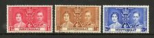 Montserrat 1937 Coronation fine used set Stamps