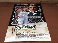1984 The Bostonians Original Movie House Full Sheet Poster