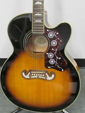 Epiphone Flat Top Ej-200Ce Acoustic Electric Guitar
