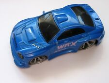 Subaru WRX IMPREZA TURBO Diecast Super Tuner Boley Sports Car, Missing Spoiler