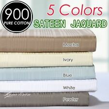 Striped 100% Cotton Pillow Cases
