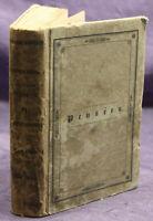 Ancillon Pensees sur L'Homme, ses Rapports et ses Interets 1829 Geschichte sf