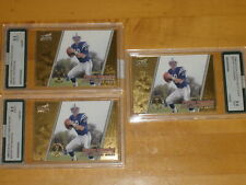 1998 Pacific Aurora Championship RC Rookie #22 Peyton Manning AGS 9.5 9 Lot of 3
