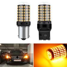2x 1156 BA15S 7440 T20 3014 144SMD LED Auto Blinker Rücklicht Glühlampe 12V-24V