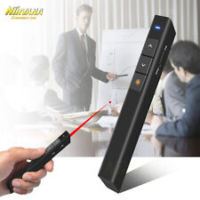 Powerpoint Presentation Wireless Presenter Laser Pointer Pen Remote Control New