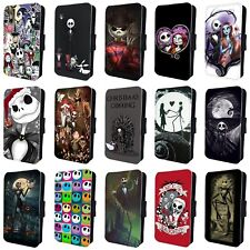 NIGHTMARE BEFORE CHRISTMAS AMAZING FLIP PHONE CASE COVER for iPHONE 4 5 6 7 8 X