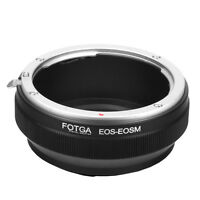 Fotga Adapter EOS EF EF-S Lens To Canon EOS M M2 M3 EF-M Mount Mirrorless Camera