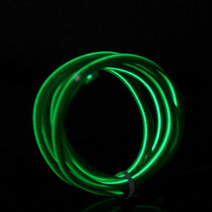 Neon LED Light Car Interior Decoration Lamp Glow EL Wire String Strip Rope Tube