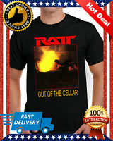 RATT Out of the Cellar Heavy Metal Band Skid Row T-shirt Regular Size S-5XL F...
