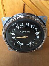 Willys Kaiser Jeep CJ5 CJ6 Factory Speedometer Speedo Original Oem Vintage Rare!