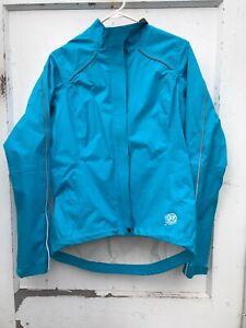 Novara Bike Jacket Blue Reflective Women's Medium