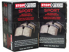 Stoptech Sport Brake Pads (Front & Rear Set) for 09-16 Audi A4