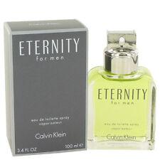 Calvin Klein Eternity Fragrance 3.4oz Eau De Toilette MSRP $76 NIB