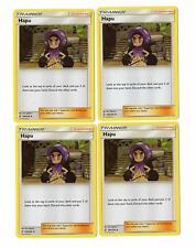 Pokemon - Hapu - 200/236 - 4 card set - Unified Minds. - NM/M