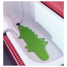 IKEA PATRULL CHILDREN'S SAFETY NON SLIP GREEN CROCODILE BATH MAT in sealed bag