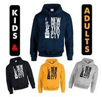 NEWYORK CITY ALWAYS A GOOD IDEA HOODIE STREET LOVERS HOODIE KIDS AND ADULTS